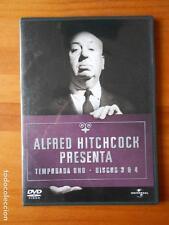 DVD ALFRED HITCHCOCK PRESENTA - TEMPORADA UNO - DISCOS 3 Y 4 (14 EPISODIOS) (E5)