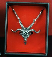 Church of Satan Baphomet Goat of Mendes Necklace Stainless Steel 316L