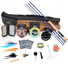 Maxcatch Saltwater Fly fishing Rod Combo Kit:8-10wt Fly Rod and Reel Outfit