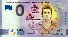 Null Euro Schein- 0 Euro - Polen - Muzeum Sportu i Turystyki w Warszawie 2021-10