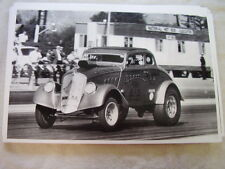 1933 WILLYS COUPE RACE CAR    11 X 17  PHOTO  PICTURE