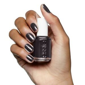 """New Essie Nail Polish Lacquer #624 """"Over the Top"""" Dark Grey Full Size Authentic"""