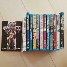 Used Japanese Comics Manga Complete Set Death Note vol. 1-13 written in Japanese
