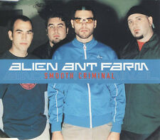 ALIEN ANT FARM SMOOTH CRIMINAL UK 4 TRACK CD SINGLE INC VIDEO FREE P&P