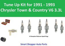 Air Filter, PCV, Spark Plugs Tune Up For 1991 1992 1993 Chrysler Town & Country