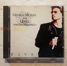 GEORGE MICHAEL AND QUEEN - FIVE LIVE - CD EP 1993 - Usato FV