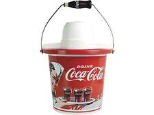 NOSTALGIA ELECTRICS ICMP400COKE Coca-Cola Limited Edition 4-Quart Ice Cream Make