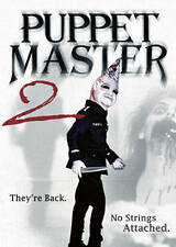 Puppet Master II /2: His Unholy Creations (DVD) Classic Puppet Slasher Full Moon