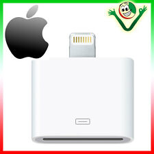 Adattatore connettore Lightning a 30 pin dock originale Apple p iPhone 6 6S Plus
