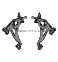 MERCEDES R170 W202 W208 FRONT LOWER LEFT RIGHT CONTROL ARM ARMS C SLK CLK SET