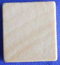 Scrabble Tiles Replacement Blank Natural Wooden Craft Game Piece Part