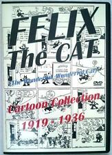 [105] FELIX The CAT Cartoon Collection 1919 - 1936 2 Disc DVD Set - 27 cartoons