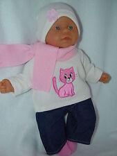 Für my first Baby Annabell 36 cm Puppen Kleidung Puppenkleidung 5-TLG.Neu