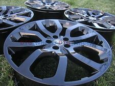 "22"" Range Rover Sport Supercharged Wheels Rims OEM 22 inch Land Rover Black Fact"
