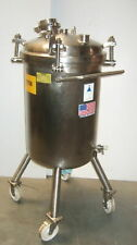 100 Liter Precision Stainless Steel 316l Fermentation Tank Very Clean
