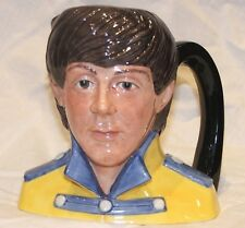 Paul McCartney Beatles Ceramic Toby Mug Jug Cup 1984 Royal Doulton England D6724