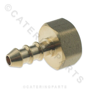 """1/2"""" FEMALE BSP THREADED FULHAM NOZZLE FOR 8mm BORE GAS PIPE 20mm NIPPLE 10mm OD"""