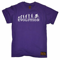 Evolution Bike Racer MENS RLTW T-SHIRT cycle cycling bicycle birthday gift