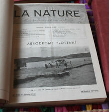 La nature revue des sciences et de leur applications 1946 art industrie