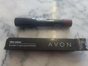 PLUM PERFECT Avon Ultra Colour Lip Crayon
