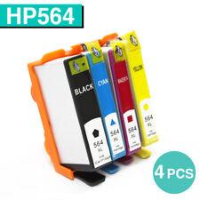 4x Ink Cartridges for HP 564xl Photosmart 5510 5520 6510 6520 B110A B111A B209A