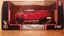Yat Ming Signature Series 1950 Mercedes Benz TLF-15 Fire Truck Die-cast 1:43-NIB