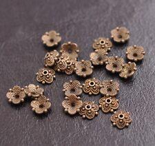 100PCS Tibetan Silver Flower Bead Caps Spacer beads Charm Findings 8MM CA3113