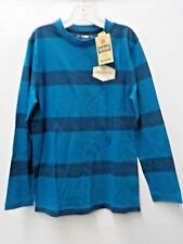 BOYS SIZE LARGE URBAN PIPELINE BLUE STRIPED LONG-SLEEVE TEE NEW NWT #5751