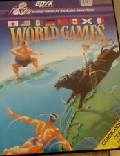 World Games (Epyx 1986) Commodore C64 Diskette (Box, Disc) funktioniert