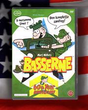 BEETLE BAILEY The Complete 1963 TV Series Danish & EU Edition 2 Disc DVD Box Set