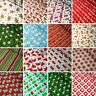 Polycotton Fabric Classic Style Christmas Buy 3 Get 1 Free Xmas Festive