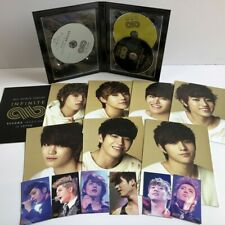 INFINITE  DVD+PHOTOCARD set Infinite Concert second Invasion in Japan (NO BOX)