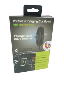 Qi Car Wireless Fast Charger car 10W for iPhone Samsung Phone Holder