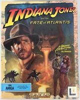 Indiana Jones And The Fate Of Atlantis 1992 Amiga 11 Disc Big Box PC Game - Mint
