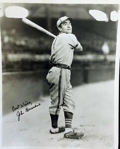 John Beradino ST. LOUIS BROWNS  signed Photo ( GENERAL HOSPITAL star)