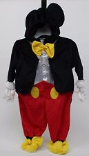 Halloween Disney Clubhouse Mickey Mouse Plush Tuxedo Costume Size 4T-5T NWT