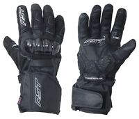 RST 2134 Rallye CE Waterproof Motorcycle Motorbike Gloves - Black