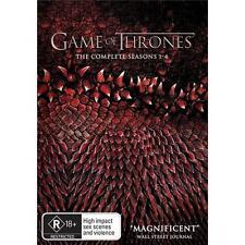 GAME OF THRONES Seasons 1 - 4 : NEW DVD