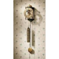 The Templeton Regulator Design Toscano Wall Clock Chime Strikes Once On The Hour