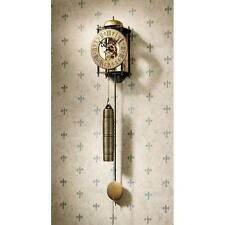 Design Toscano The Templeton Regulator Wall Clock Chime Strikes Once On The Hour