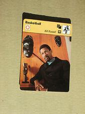 FICHE CHAMPION BASKETBALL NBA BILL RUSSELL BOSTON CELTICS  USA 1979