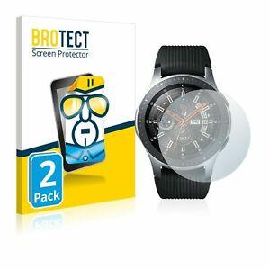 Samsung Galaxy Watch (46) , 2 x BROTECT® HD-Clear Screen Protector, hard-coated
