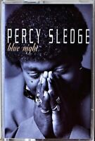 Cassette Percy Sledge Blue Night Soul 1994 R&B TESTED -Extra Tapes Ship Free