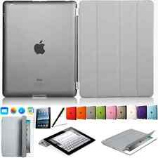 Ultra Slim Tasche iPad 2 iPad 3 iPad 4 Case + Back Cover Schutz Hülle Etui Grau