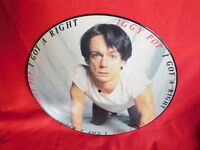 IGGY POP I got a right PDK LP 1987 UK Picture Disk MINT-