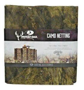 Mossy Oak Break-Up Country Camo Netting Blind Material 12ft x 56in Treestands