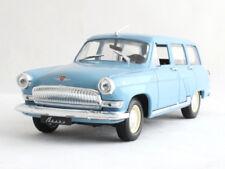 GAZ-22 VOLGA Soviet Station Wagon USSR Blue Color 1:43 Scale Diecast Model Car