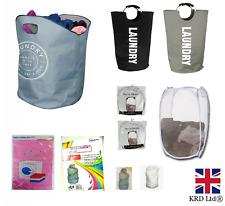 Laundry Basket Clothes Bag Hamper Washing Bin Basket Mesh XL Travel Laundry