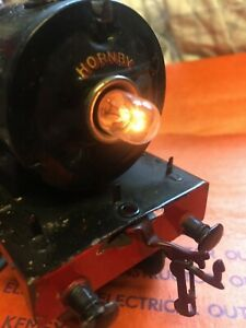 HORNBY O GAUGE ELECTRIC LOCO BULBS 20V TWO NEW BULBS