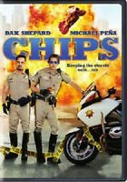 CHIPS (DVD, 2017) Dax Shepard, Michael Pena DISC ONLY - NO COVER ART